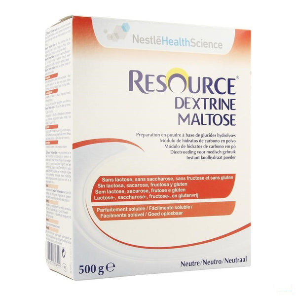 Resource Dextrine Maltose Pdr 500g 12061029 - Nestle - InstaCosmetic