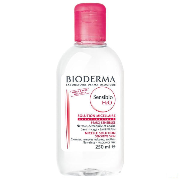 Bioderma Sensibio H2O Micellaire Water Oplossing | 250 ml - Bioderma - InstaCosmetic