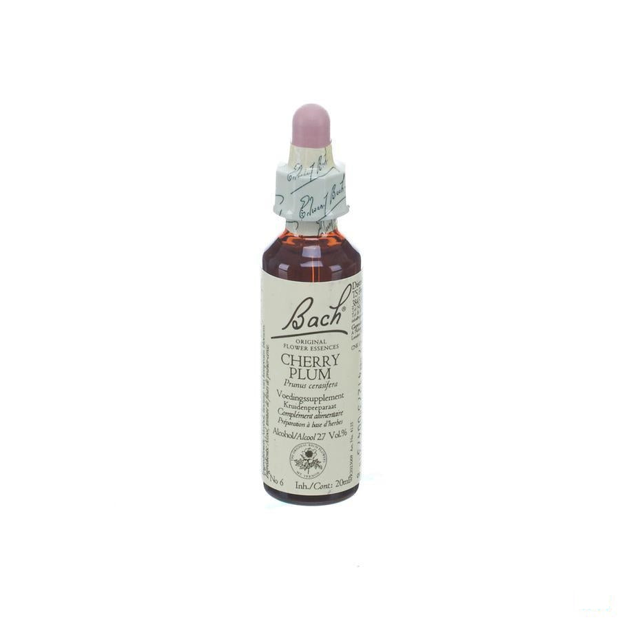 Bach Flower Remedie 06 Cherry Plum 20ml