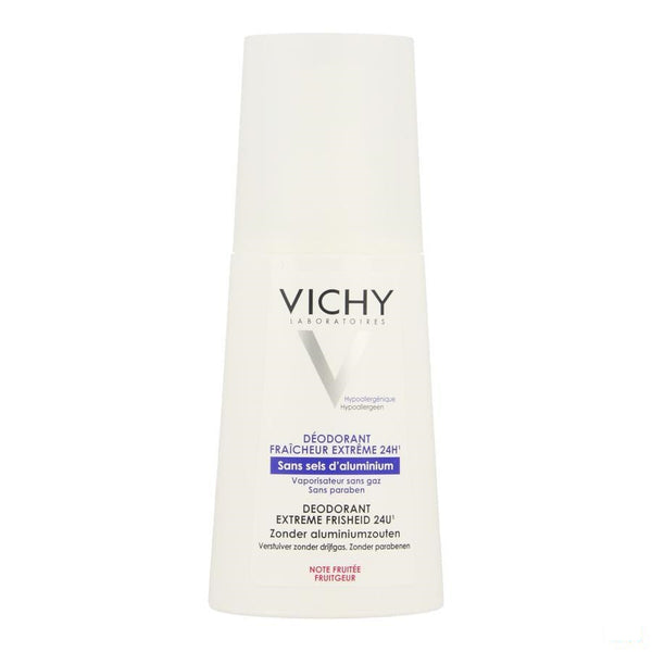 Vichy - Deo Anti-Transpiratie Intense Fruitgeur 100ml - Vichy - InstaCosmetic
