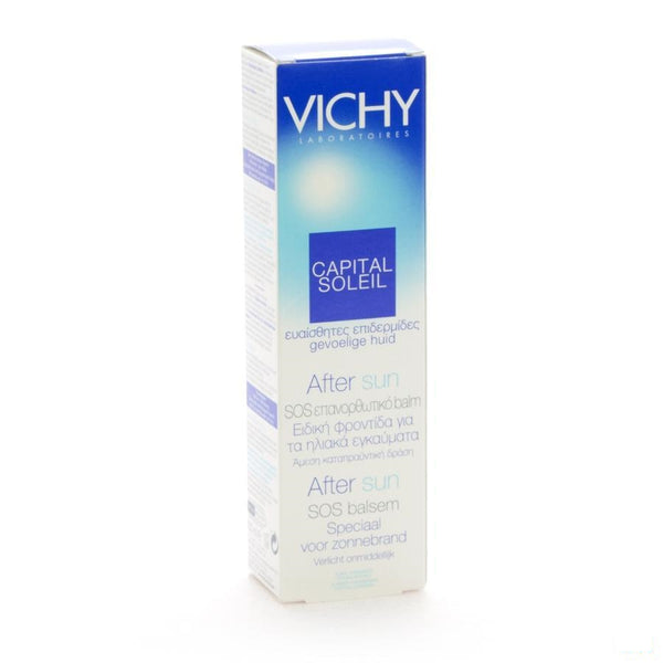 Vichy Capital Soleil Aftersun Herstellend 100 Ml - Vichy - InstaCosmetic