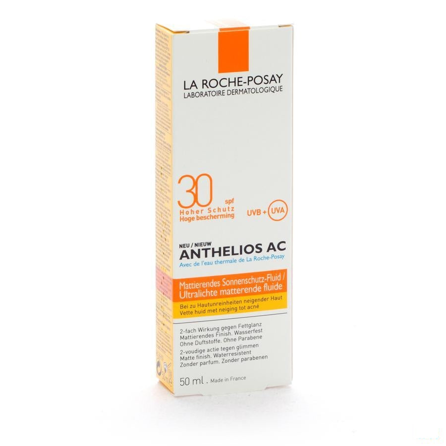 La Roche-Posay - Anthelios Zonnefluïde Dry Touch SPF30 50ml