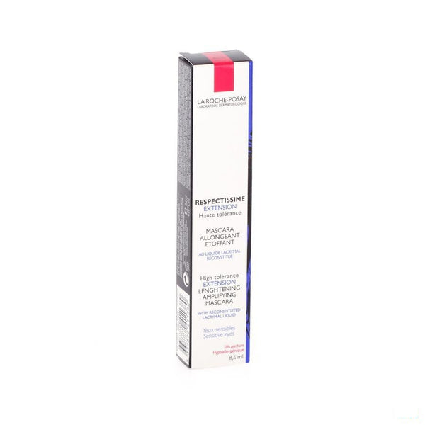 La Roche-Posay Respectissime Mascara Extension Brun 8,4ml - Lrp - InstaCosmetic