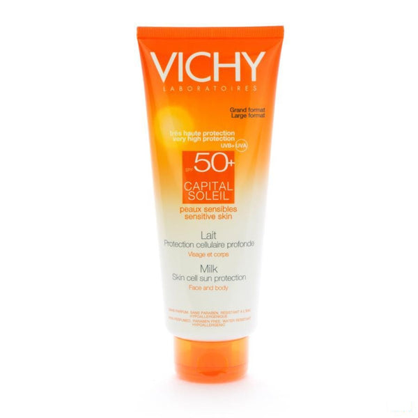 Vichy Ideal Soleil SPF50+ Melk Lichaam 300 Ml - Vichy - InstaCosmetic