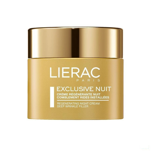 Lierac Exclusive Nachtcreme Anti Rimpels 50ml - Lierac - InstaCosmetic