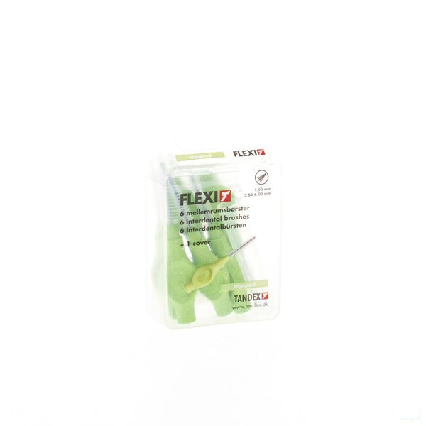 Flexi Green Borsteltje Tapered Interdentaal 6 - Deprophar - InstaCosmetic