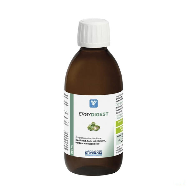 Ergydigest 250ml - Laboratoire Nutergia - InstaCosmetic