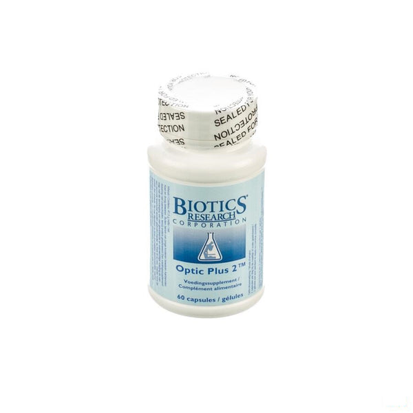 Optic Plus 2 Biotics Capsules 60 - Energetica Natura Benelux - InstaCosmetic