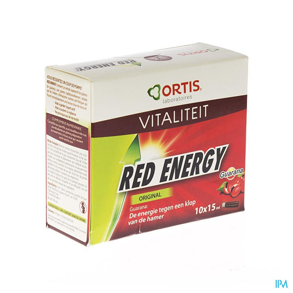 Ortis Red Energy-g N1 10x15ml - Ortis - InstaCosmetic