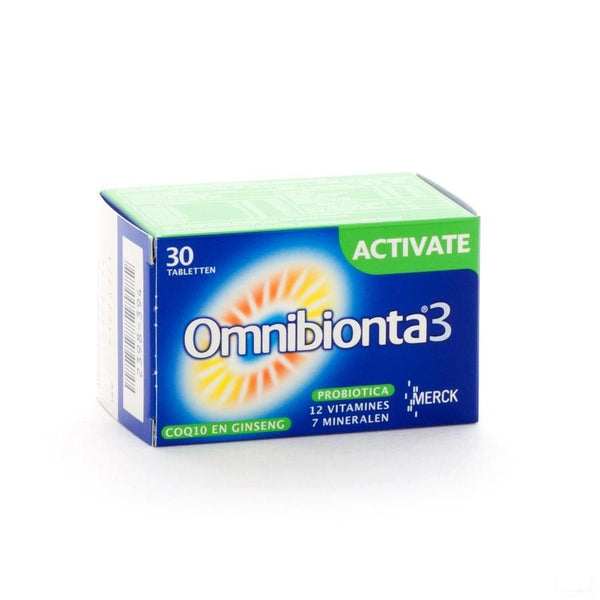 Omnibionta-3 Activate Tabletten 30 - Merck - InstaCosmetic