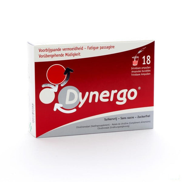 Dynergo Drinkbare Amp 18x10ml - Biocodex - InstaCosmetic