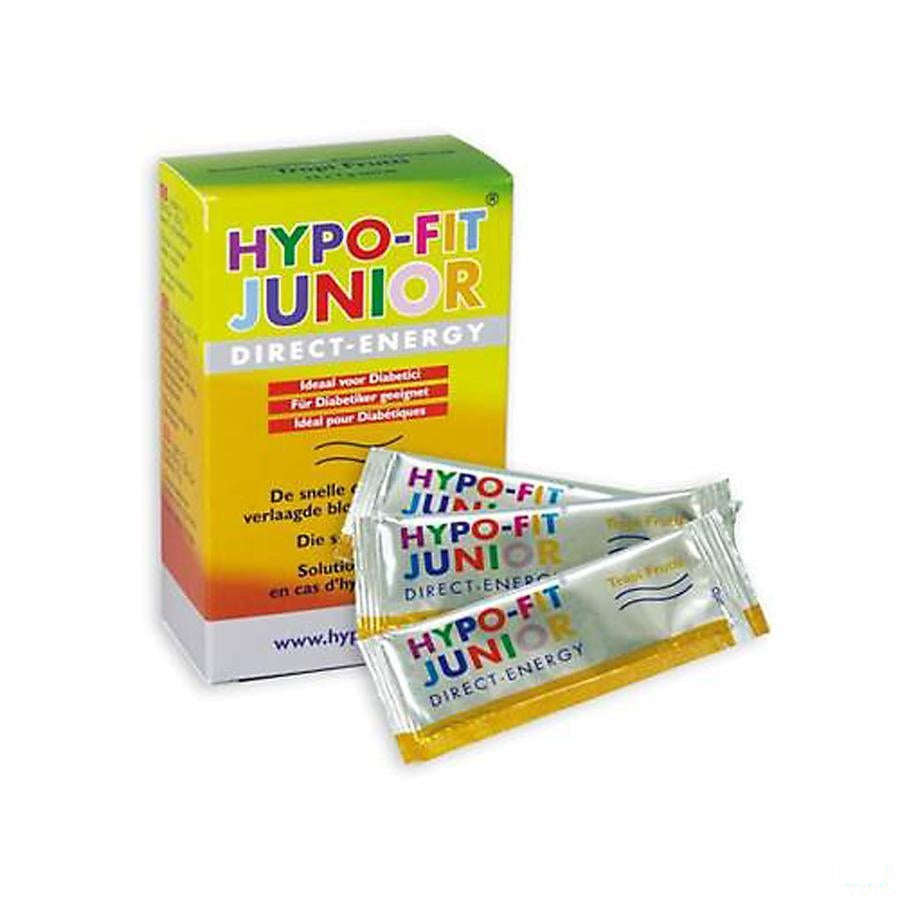 Hypo-fit Junior Direct Energy Tropifrut.zakje12x7g