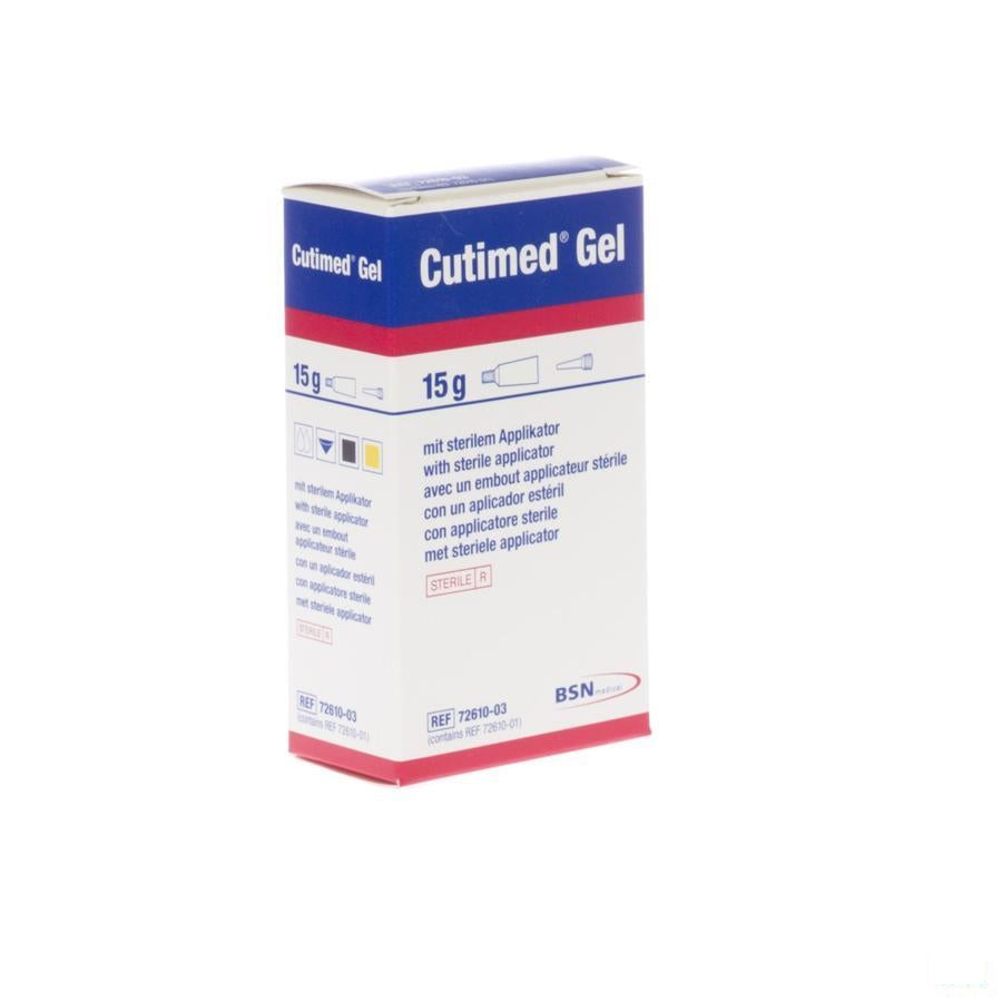Cutimed Gel Hydrogel Tube 1x15g