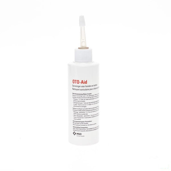 Oto-aid Oorreiniger Hond-kat 100ml - Msd Animal Health - InstaCosmetic