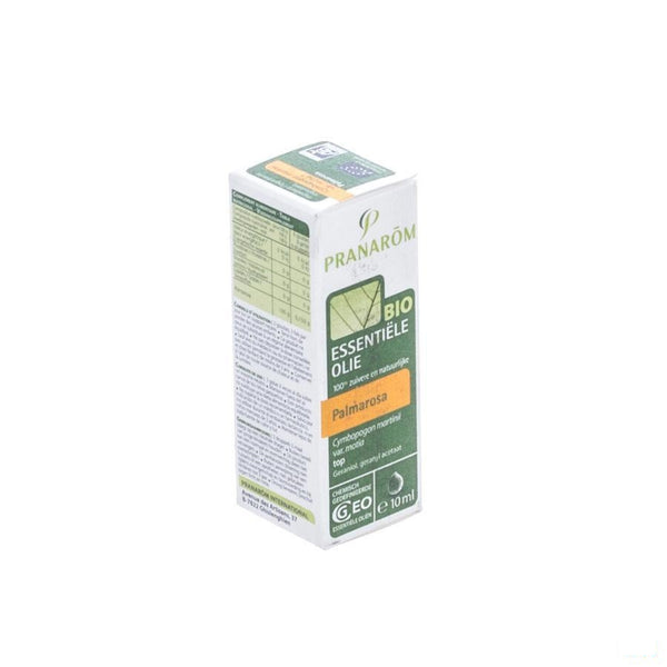 Palmarosa Bio Ess Olie 10ml Pranarom - Pranarom International Sa - InstaCosmetic