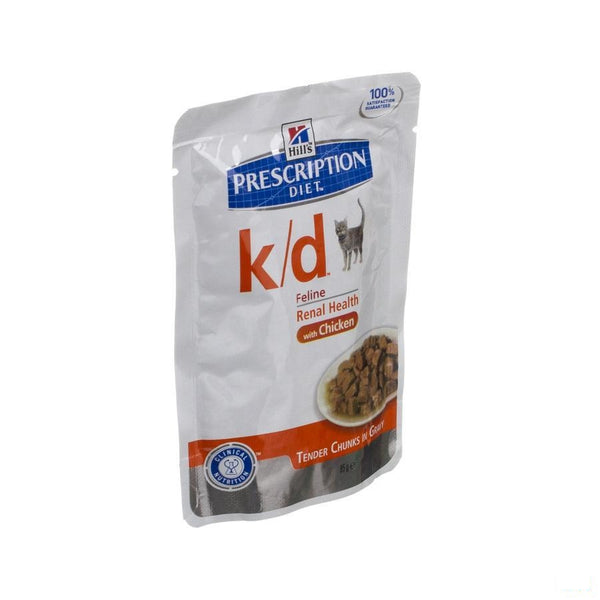 Hills Prescrip.diet Feline Kd Maaltijdzakje 85g - Hill's Pet Nutrition - InstaCosmetic