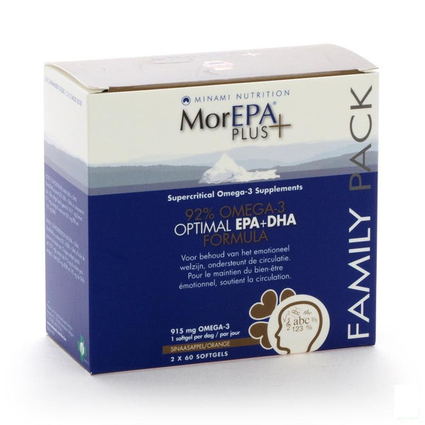 Morepa Plus Family Pack Softgels 120 - Morepa - InstaCosmetic