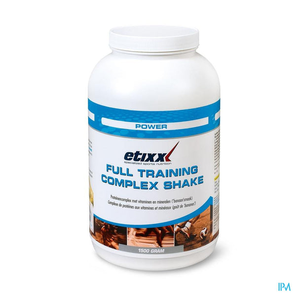 Etixx Full Training Complex Pdr 1500g - Etixx - InstaCosmetic