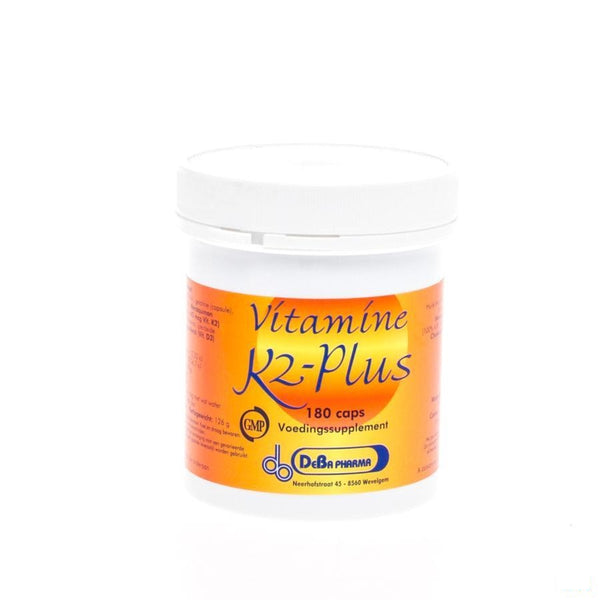 K2-plus Softgels 180 Deba - Deba Pharma - InstaCosmetic