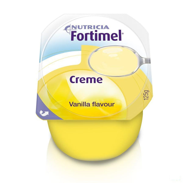 Fortimel Creme Vanille 4x125g - Nutricia - InstaCosmetic