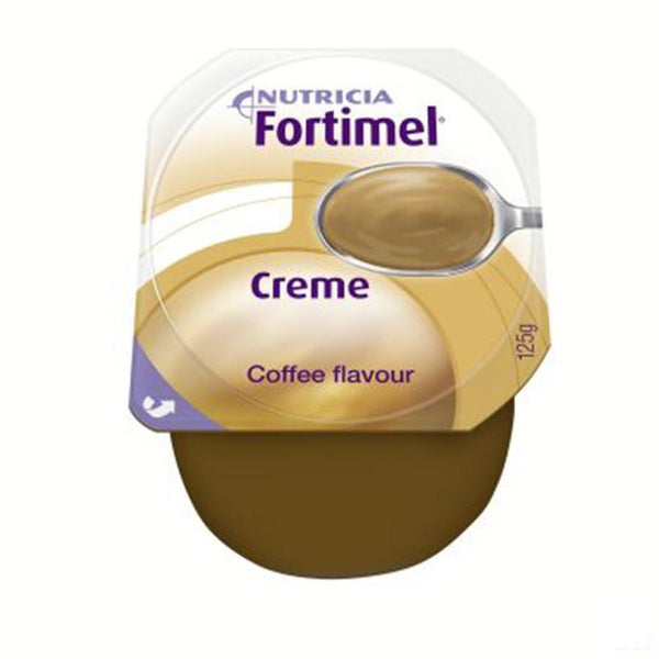 Fortimel Creme Moka 4x125g - Nutricia - InstaCosmetic