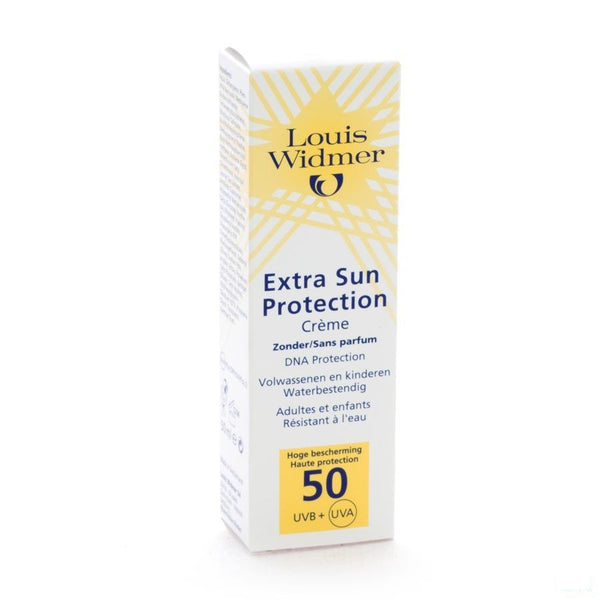 Louis Widmer Extra Sun Protection Zonder parfum Zonnecreme SPF50 - 50 ml - Louis Widmer - InstaCosmetic
