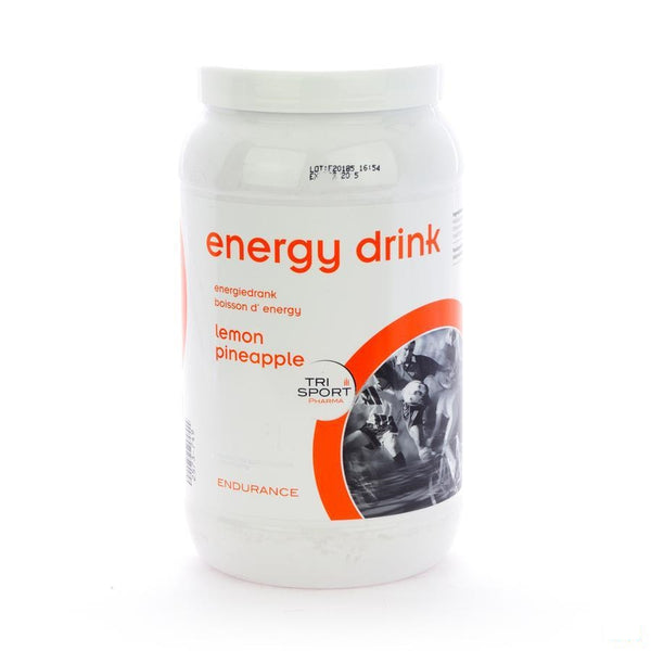 Energy Drink Lemon Pdr 1kg - Trisport Pharma - InstaCosmetic