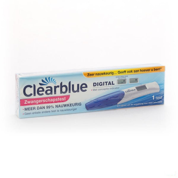 Clearblue Zwangerschapstest Conception Indicator 1 - Procter & Gamble - InstaCosmetic