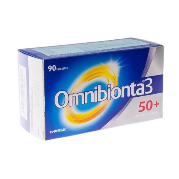 Omnibionta 3 50+ (90 tabletten) - Merck - InstaCosmetic