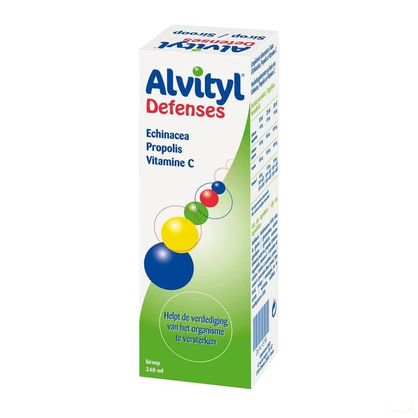Alvityl Defense Siroop Fl 240ml - Urgo - InstaCosmetic