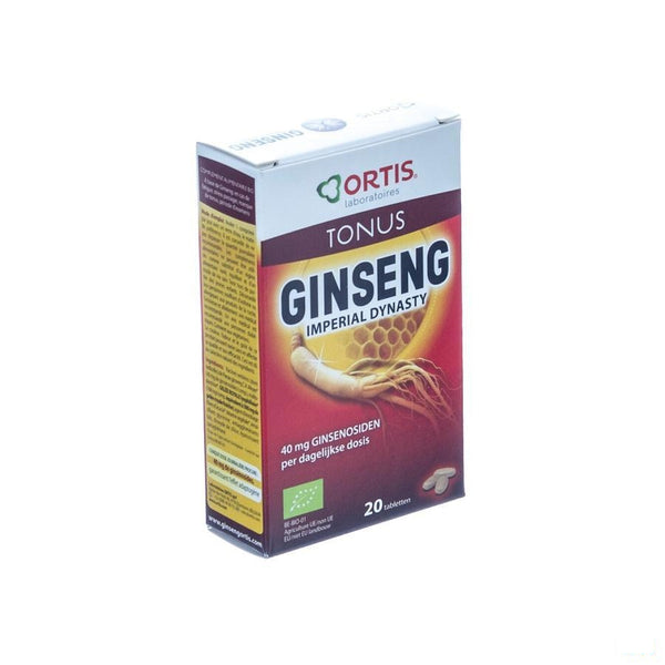 Ortis Ginseng Dynasty Imperial Bio Tabletten 2x10 - Ortis - InstaCosmetic