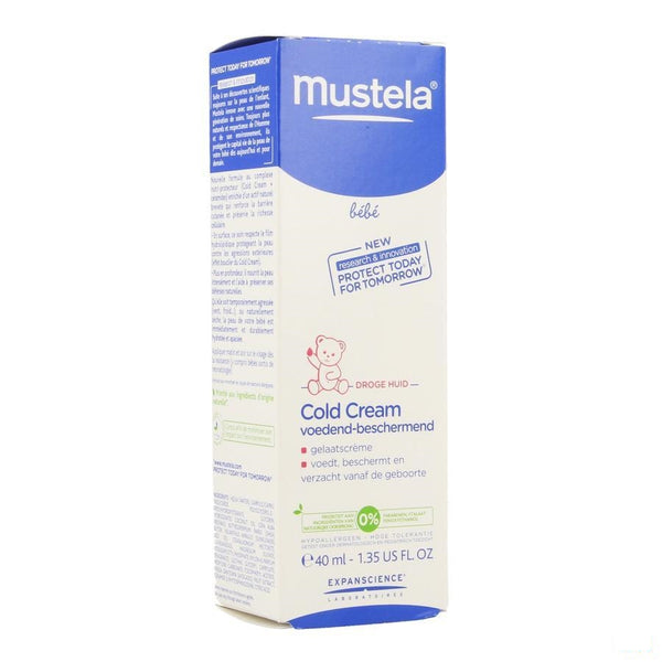 Mustela Bb Cold Cream Gelaat Creme 40ml - Mustela - InstaCosmetic