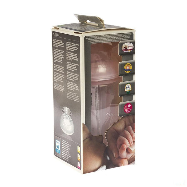 Nuby Nt Zuigfles Propyl.deco 300ml+speen Med - New Valmar - InstaCosmetic