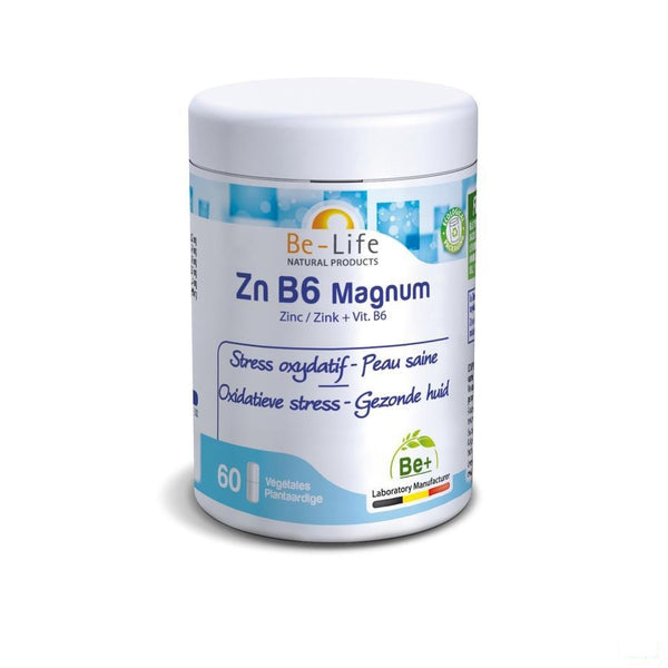 Zn B6 Magnum Minerals Be Life Gel 60 - Bio Life Sprl - InstaCosmetic