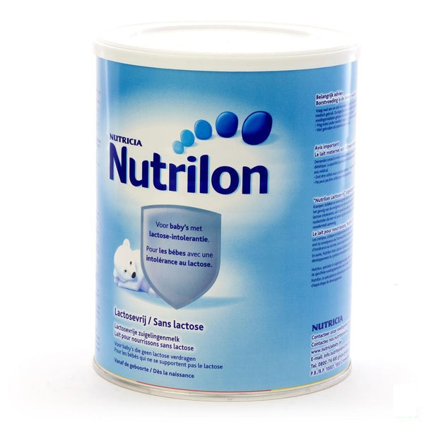 Nutrilon Lactosevrij Pdr 800g - Nutricia - InstaCosmetic