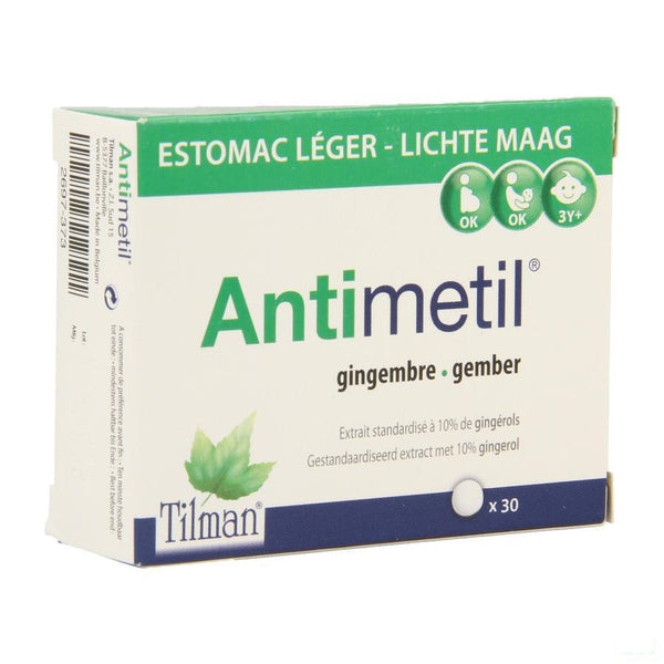Antimetil Tabletten 30 - Tilman - InstaCosmetic