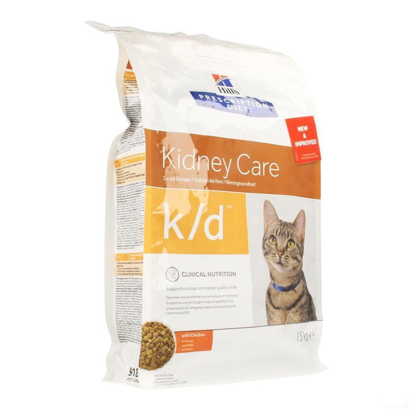 Hills Prescrip.diet Feline Kd 1,5kg 8636m - Hill's Pet Nutrition - InstaCosmetic