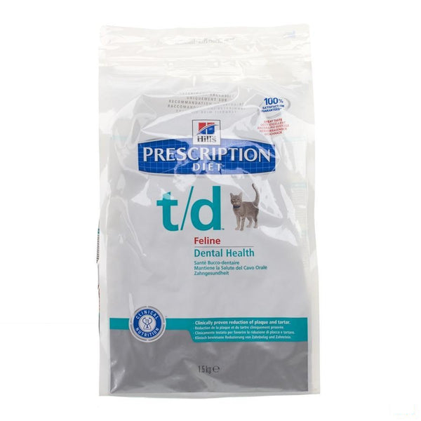 Hills Prescrip.diet Feline Td 1,5kg 8688m - Hill's Pet Nutrition - InstaCosmetic