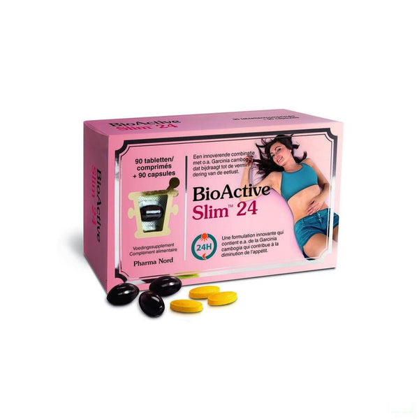 Bioactive Slim 24 90 Caps+90 Tabl - Pharma Nord - InstaCosmetic