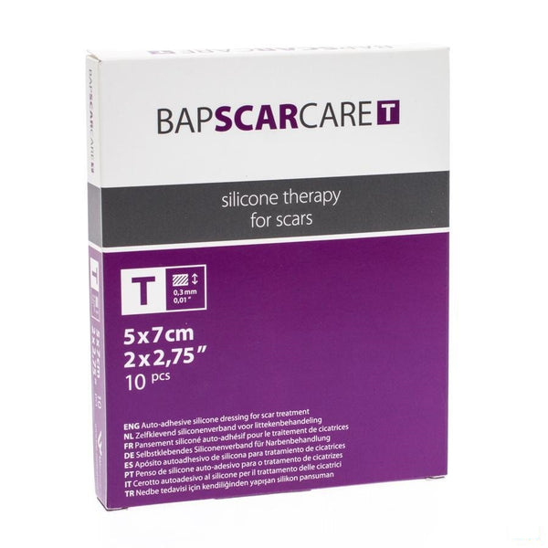 Bap Scar Care T Verb Dun Transp 5x 7cm 10 600507 - Bap Medical - InstaCosmetic