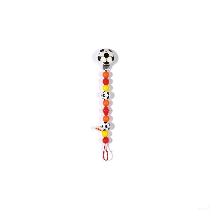 Heimess Fopspeenketting Hout Football H5014