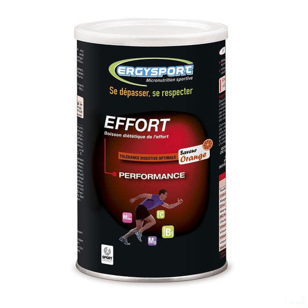 Ergysport Effort Sinaas Drink Pdr Pot 450g - Laboratoire Nutergia - InstaCosmetic