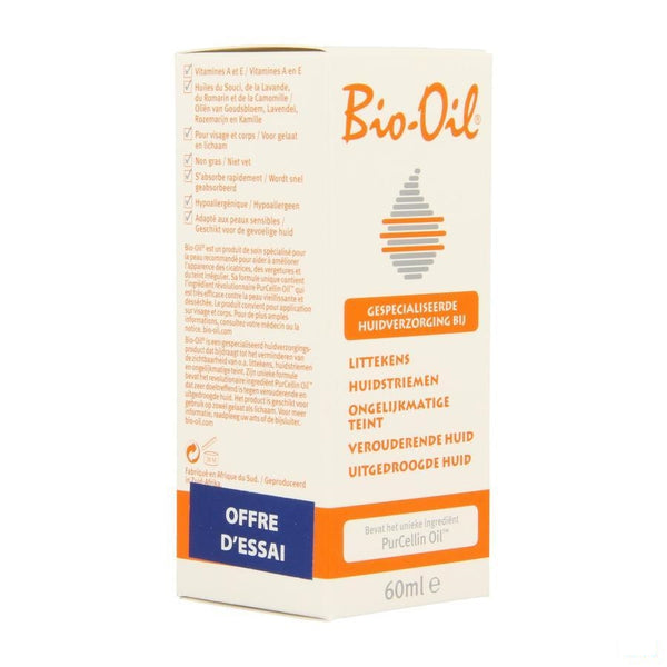 Bio-oil Herstellende Olie 60ml Promo - Omega Pharma - InstaCosmetic