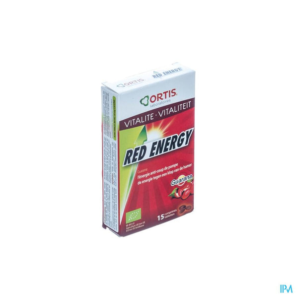 Ortis Red Energy Bio Tabletten 1x15 - Ortis - InstaCosmetic