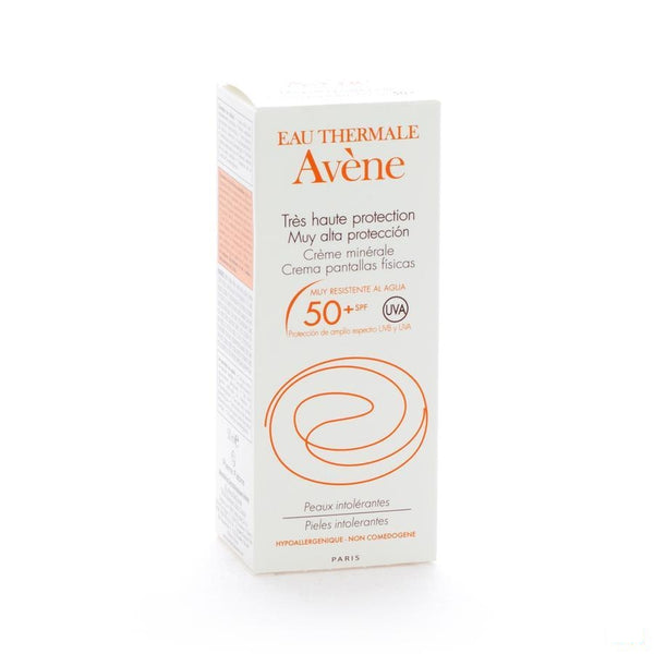 Avene Zonnecreme Minerale Ip50+ 50 Ml - Avene - InstaCosmetic