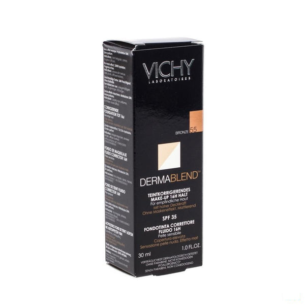 Vichy Foundation Dermablend Fluide 55 Bronze 30ml - Vichy - InstaCosmetic