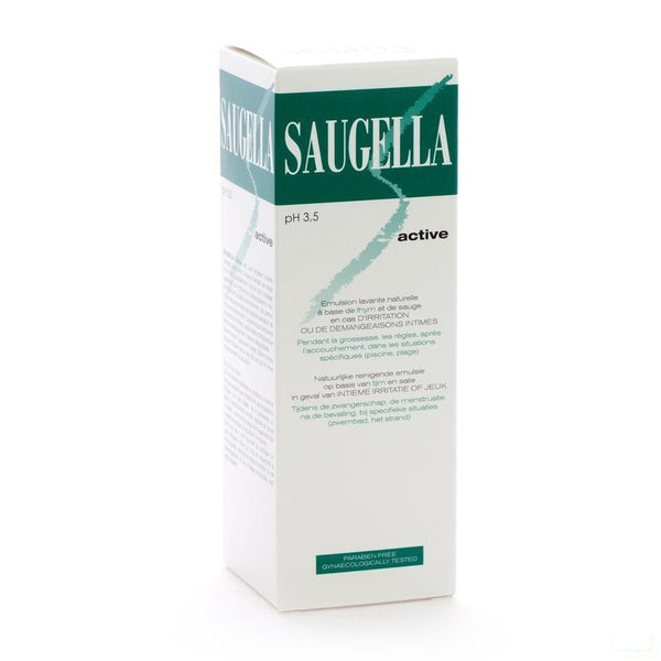 Saugella Active Emuls 250ml - Meda Pharma - InstaCosmetic