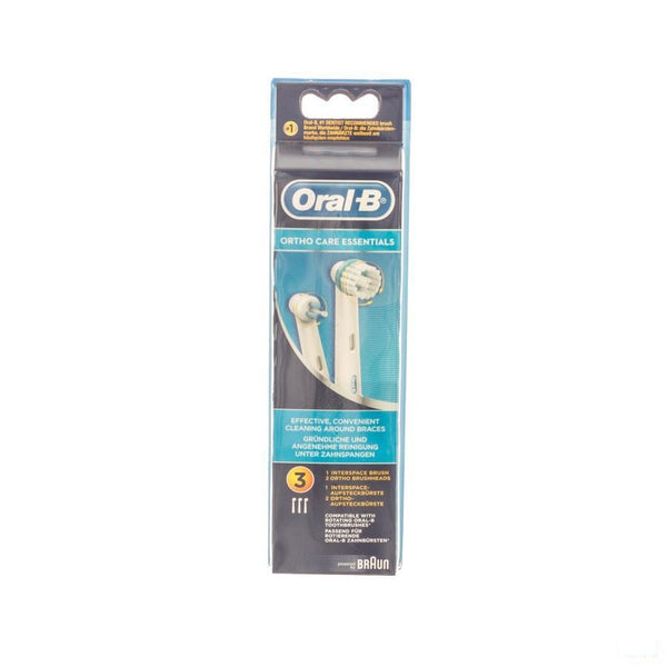 Oral B Refill Eb Ortho Kit 3 - Opzetborstels - Procter & Gamble - InstaCosmetic