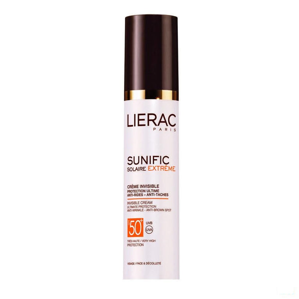 Lierac Sunific Extreme Ip50+ Cr Ultime Gelaat 50ml - Lierac - InstaCosmetic