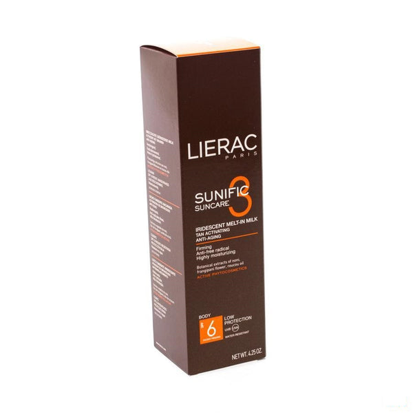 Lierac Sunific 3 Ip6 Melk A/age Lichaam Tube 125ml - Lierac - InstaCosmetic